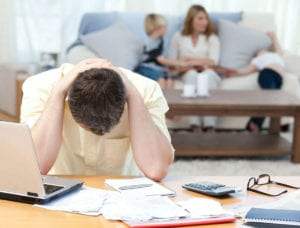 Stressed employee due to workers compensation claim